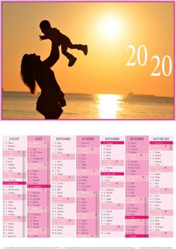 Calendrier 2020 A3-photo encadrée + année_site-2